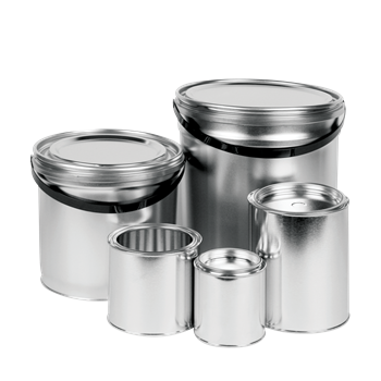 8053 Metal Paint Cans